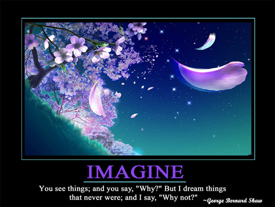 IMAGINEpost Motivational Wallpaper   Imagine
