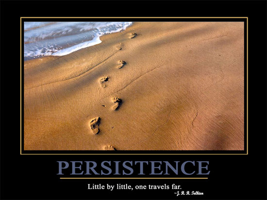 PERSISTENCEpost Motivational Wallpaper   Persistence