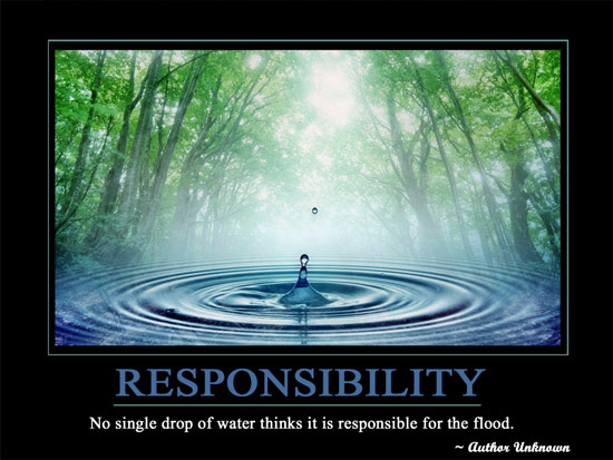 RESPONSIBILITYpost Motivational Wallpaper   Responsibility